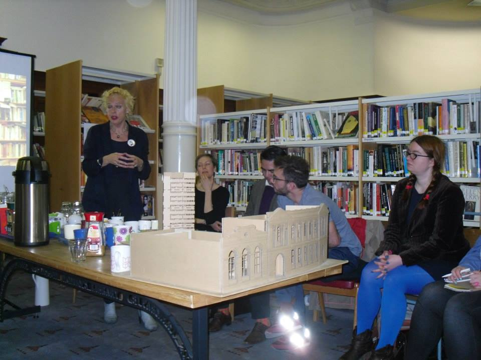 """"""" My best academic experience so far in Scotland. Great way to meet new interesting people. I absolutely recommend it to any PhD student in Arts and Humanities. """"  A Creative Enlightenment Programme - Glasgow Womens Library  SGSAH  2015."""