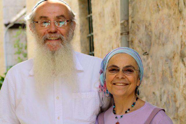"""Reb Sholom Brodt, z""""l, and tibadel l'chaim tovim Rebbetzin Judy Brodt"""