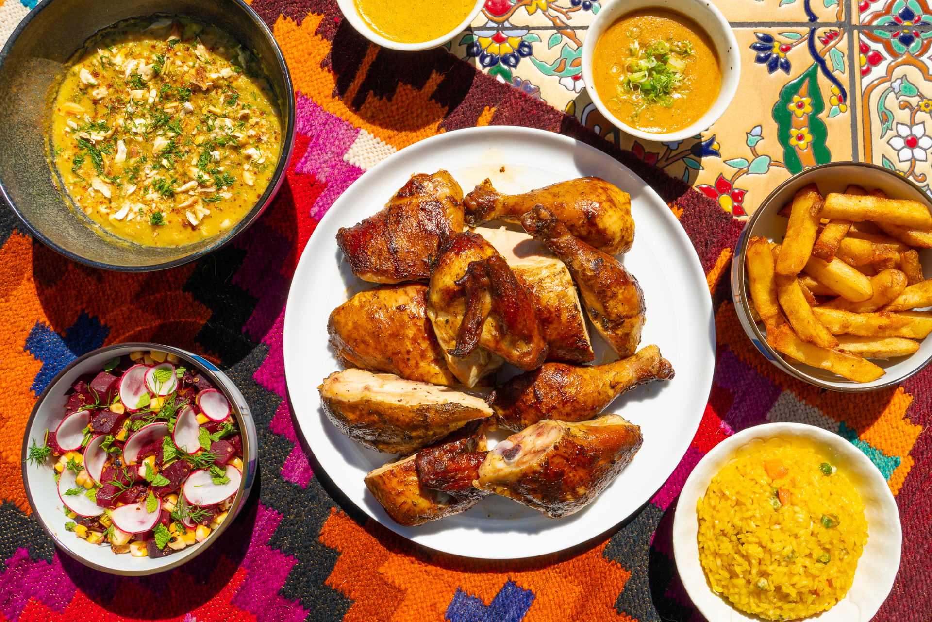 rotombo charcoal chicken meal los angeles delivery