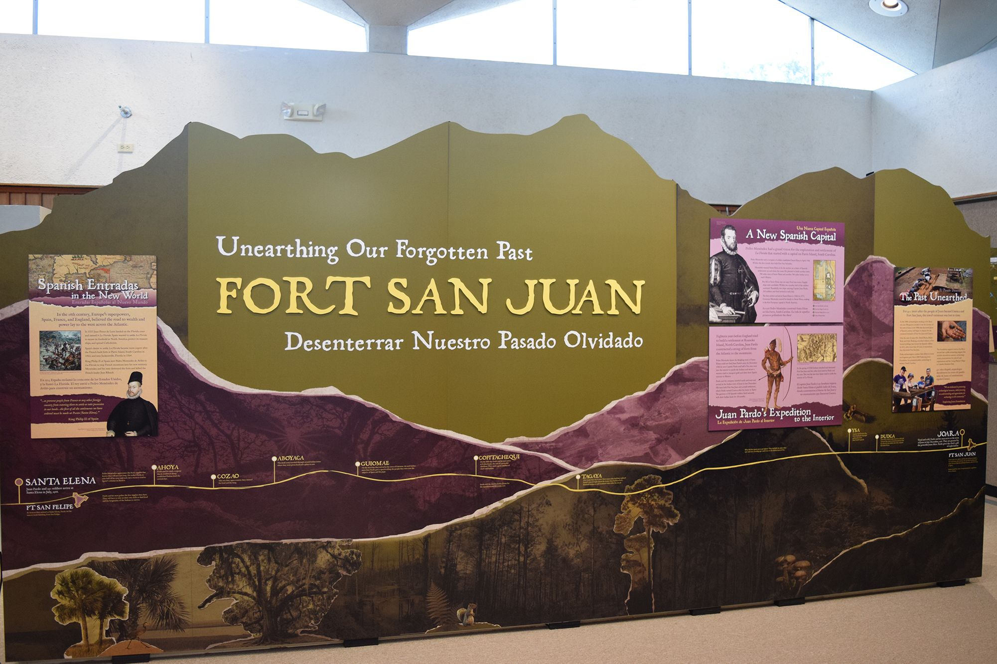 Unearthing Our Forgotten Past  Joara exhibit on view at The History Museum of Burke County.