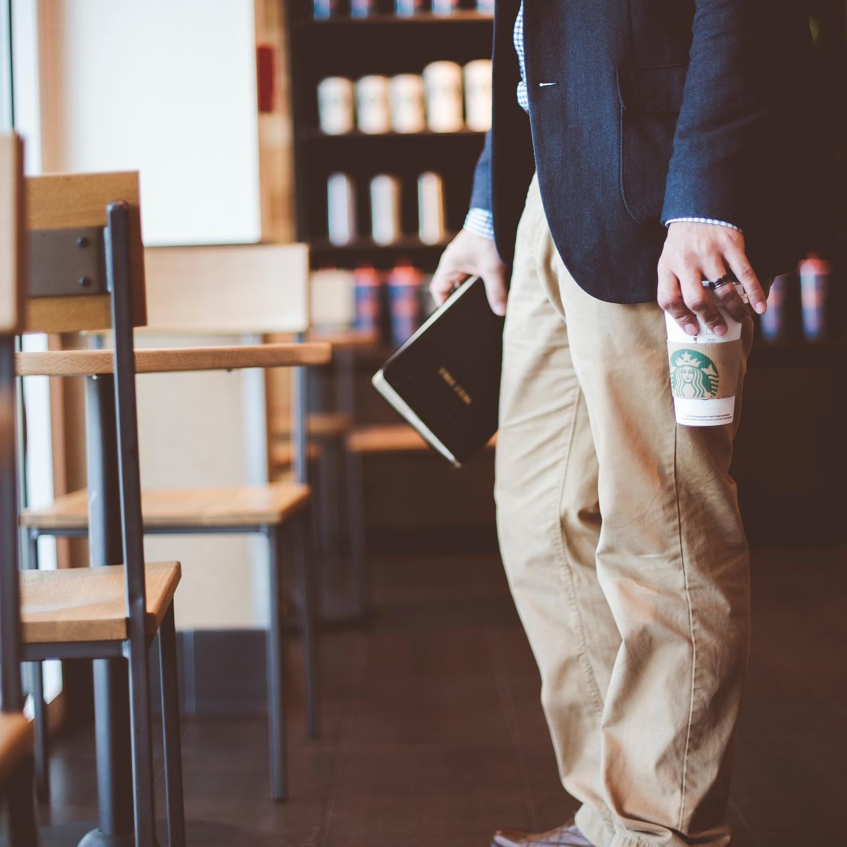 Men's Prayer at Starbucks
