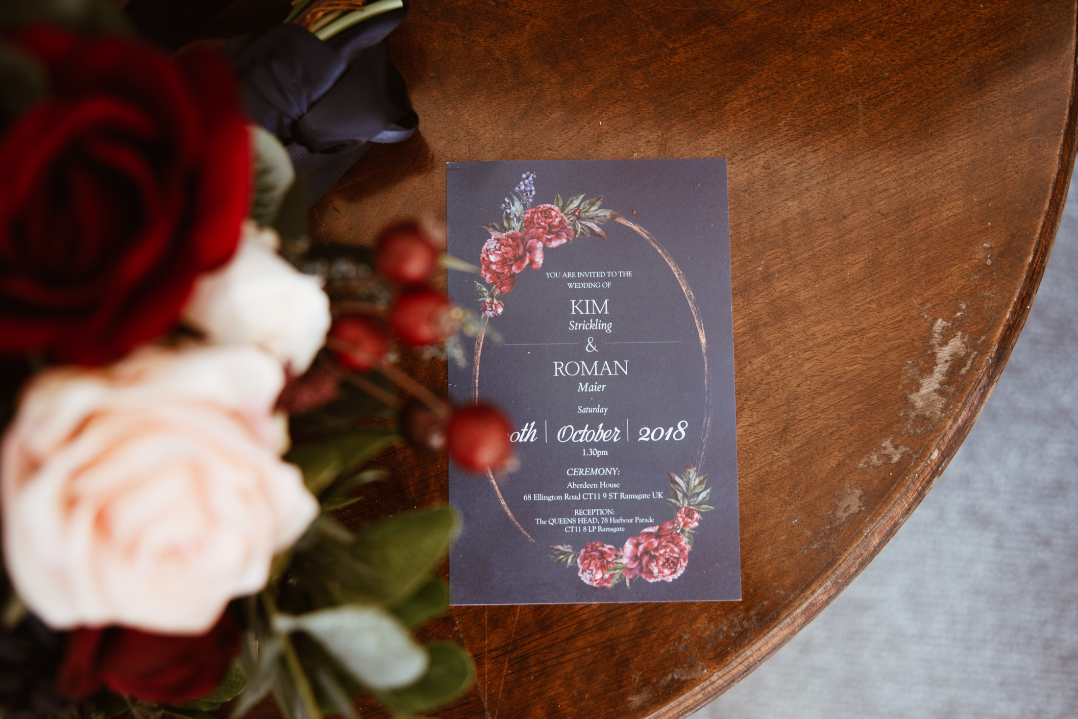 RominakeyInvitationWeddingK&R