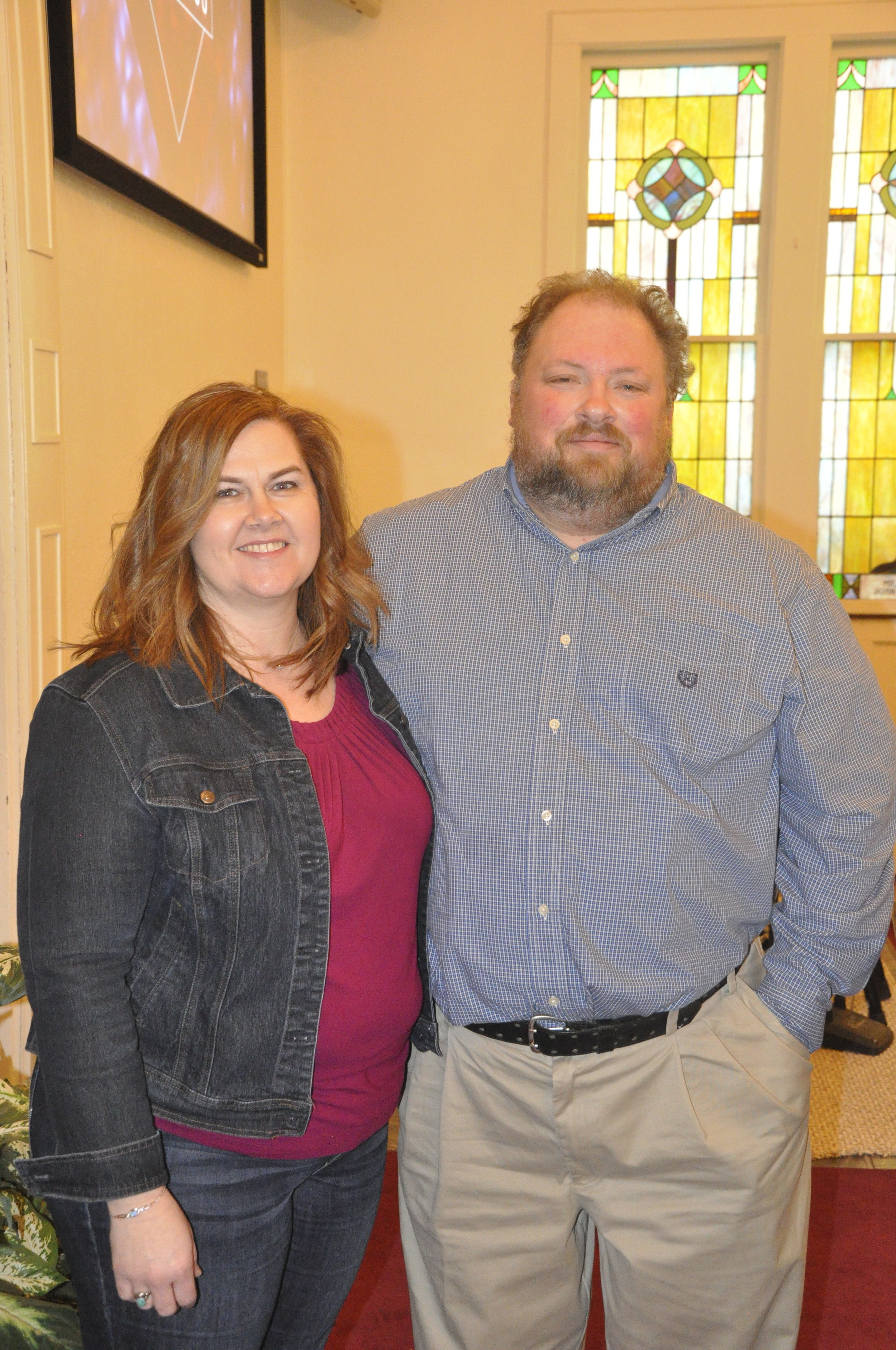 Nicole & Troy Griswold    Director of Youth & Children's Ministries    Read More.....