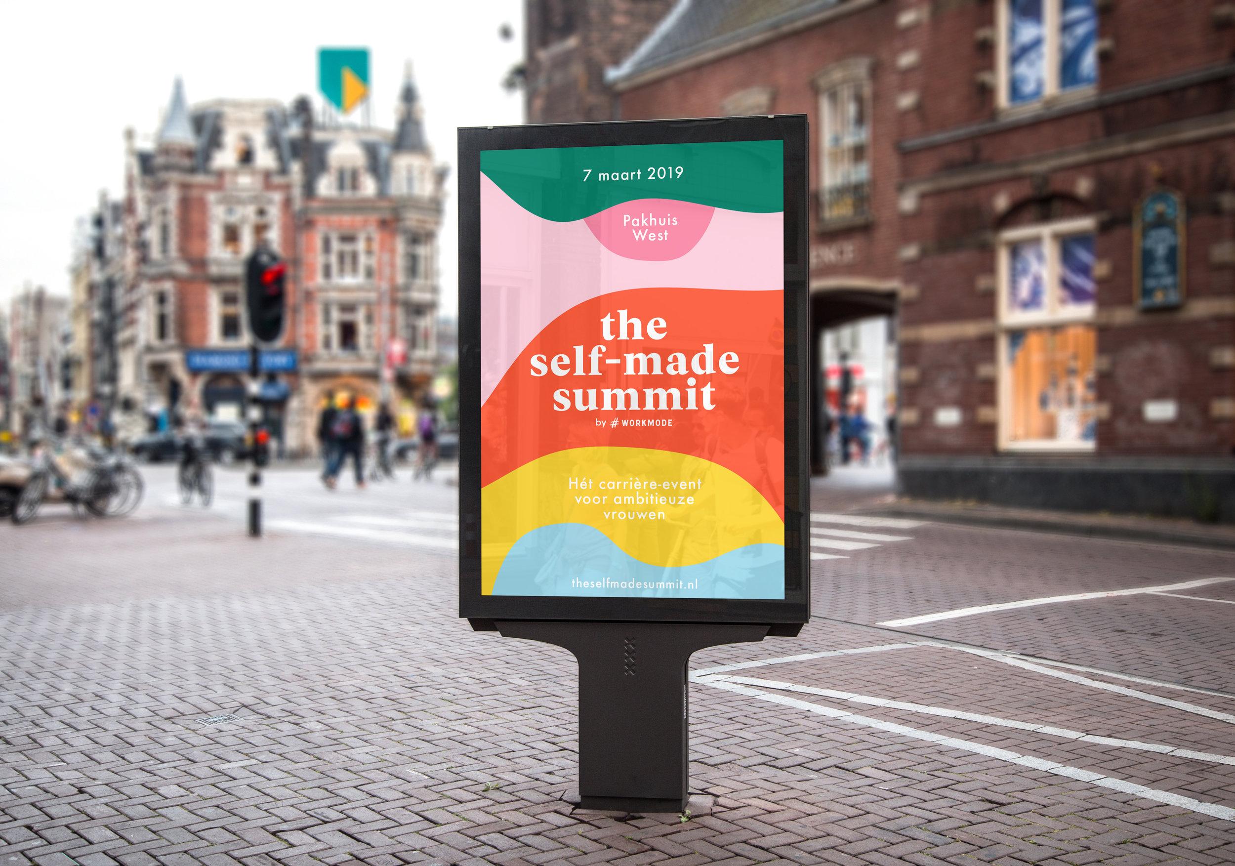 the self-made summit - branding