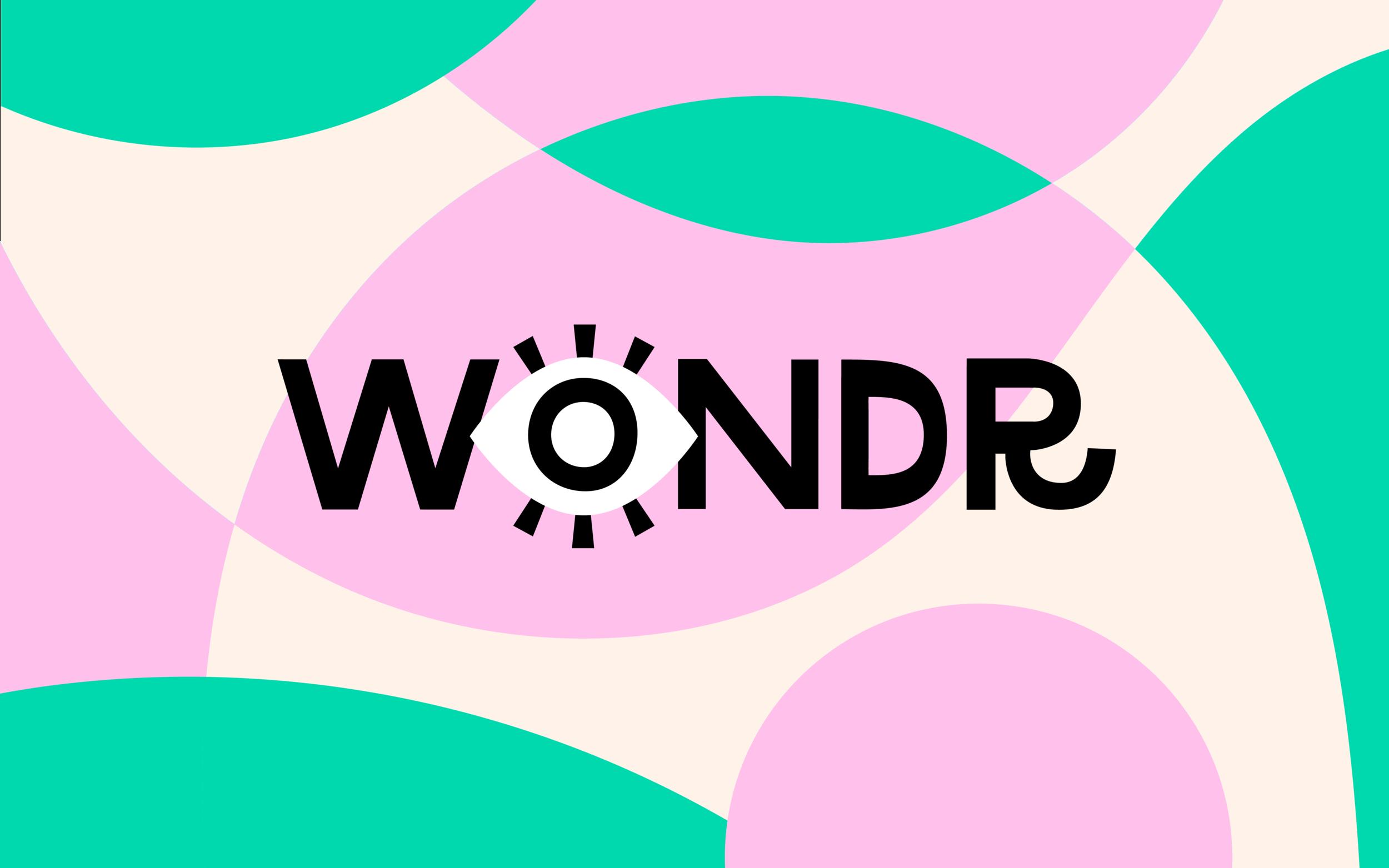 wondr experience - visual identity