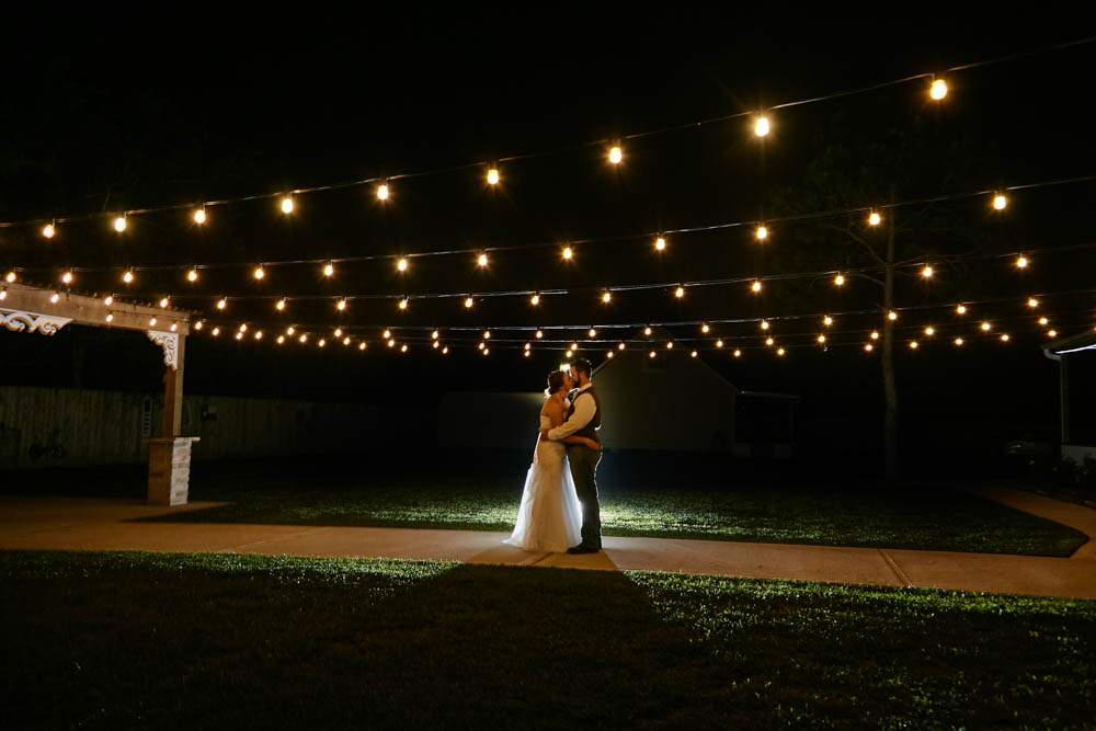 White String Lights - Outdoor or indoor, this is the ultimate touch for any rustic wedding. Timeless & Romantic