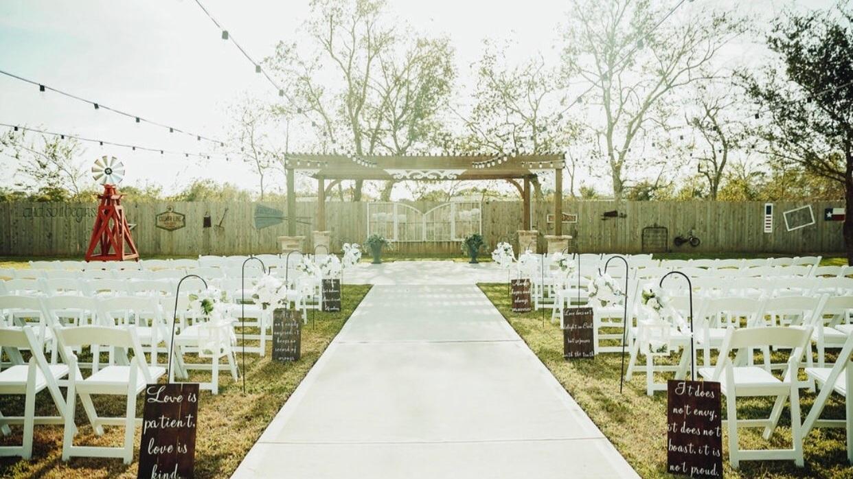 Houston Rustic Weddings Popular