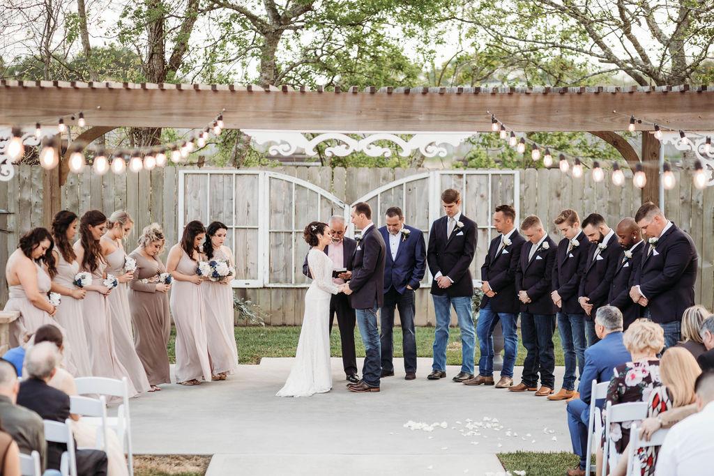 Friendswood Wedding Venues