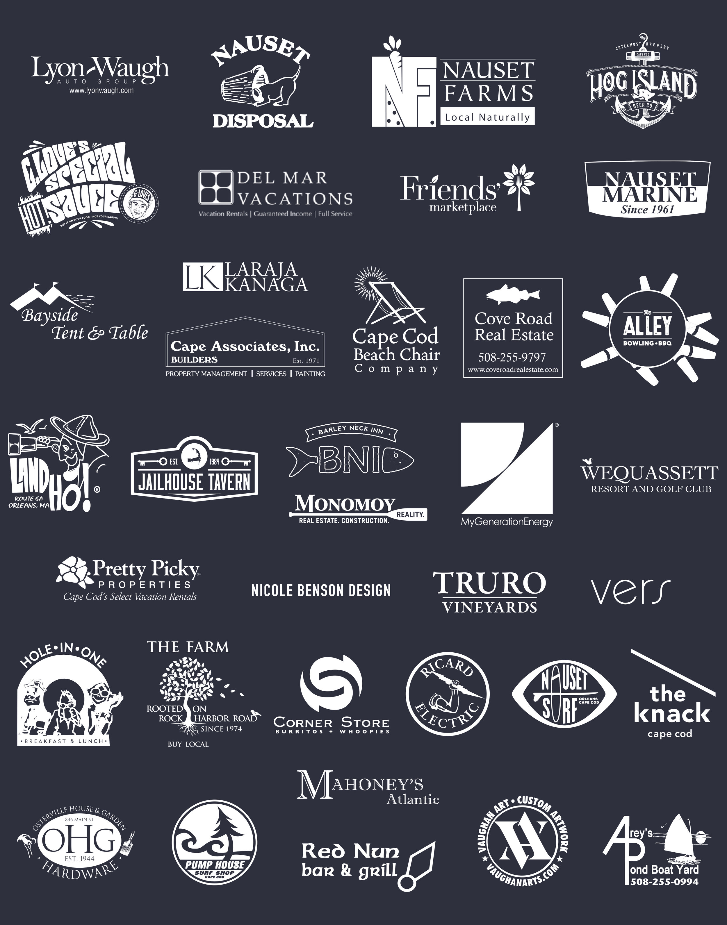 Thanks to all of our sponsors who help make it all possible!