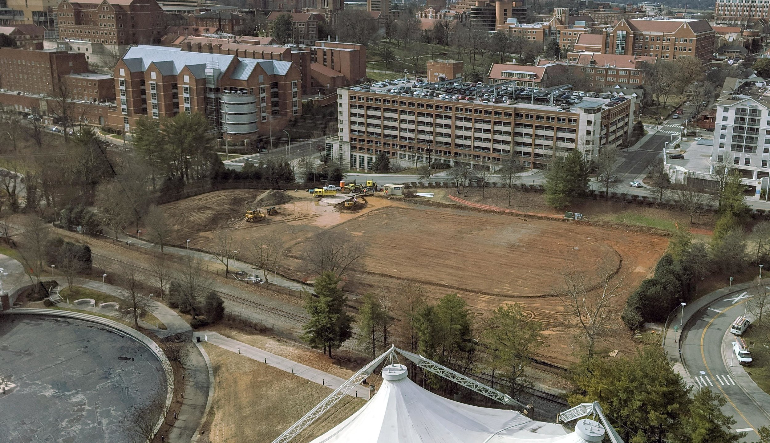 February 14, 2019 -- Rough Grading 90% Complete