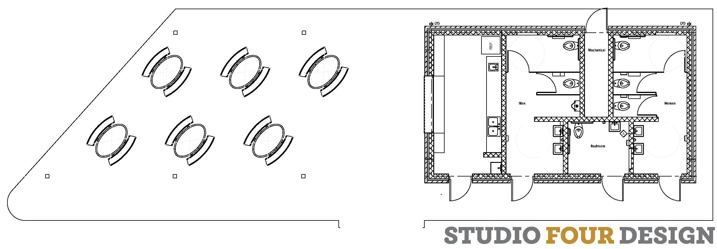 Picnic Pavilion & Restroom Building Plan
