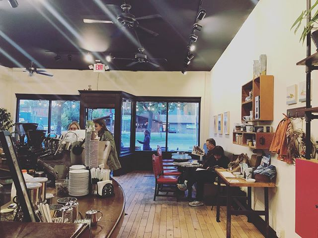 It's been a beautiful fall day, and we are still enjoying the open door! Swing by any night until 8pm. We're open seven days a week for all of your hot chocolate cravings. #coolseason #chocolatetime #cafelife #stpaulmn
