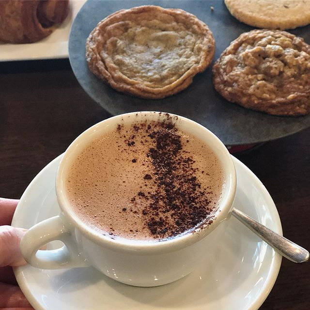 Cinnamon Almond Cocoa is a great little afternoon treat. #autumn #cocao #dairyfree #afternoondelight #stpaulmn