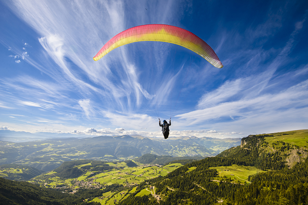 Don't just jump, take a parachute! -