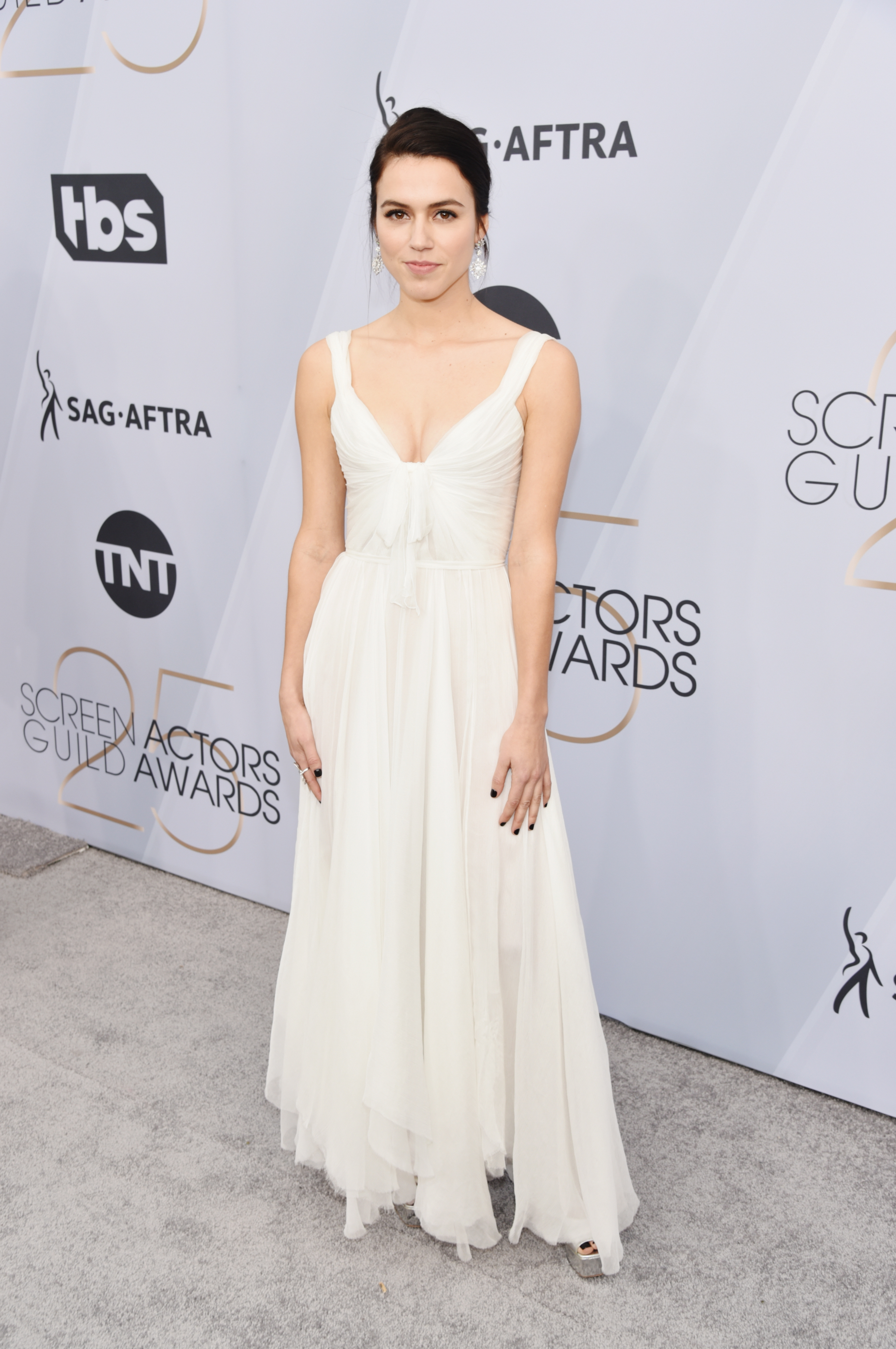 Nina Kiri for the 2019 Screen Actors Guild Awards / Styled by Natalie Hoselton