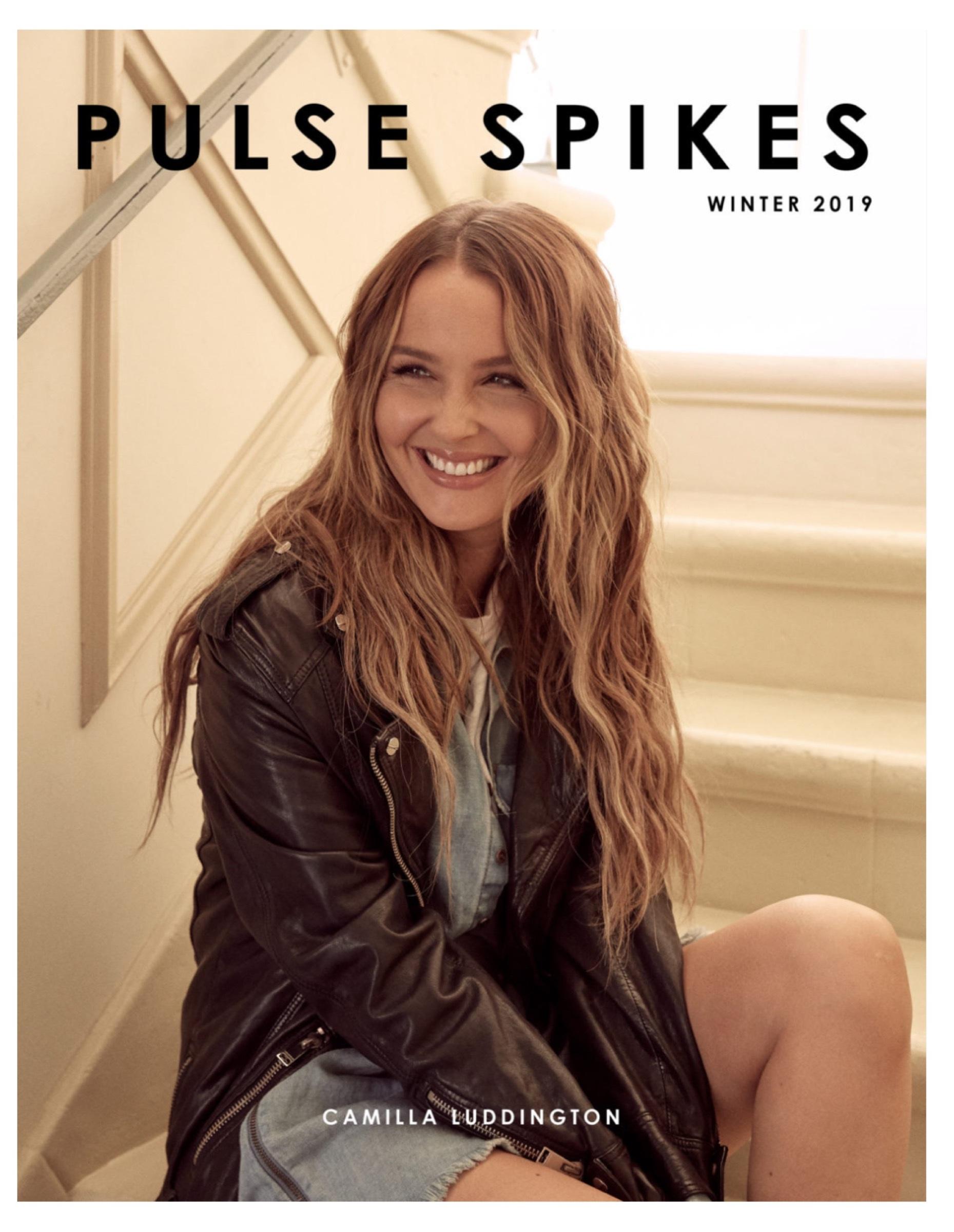 Camilla Luddington for Pulse Spikes Magazine Winter 2019 Issue