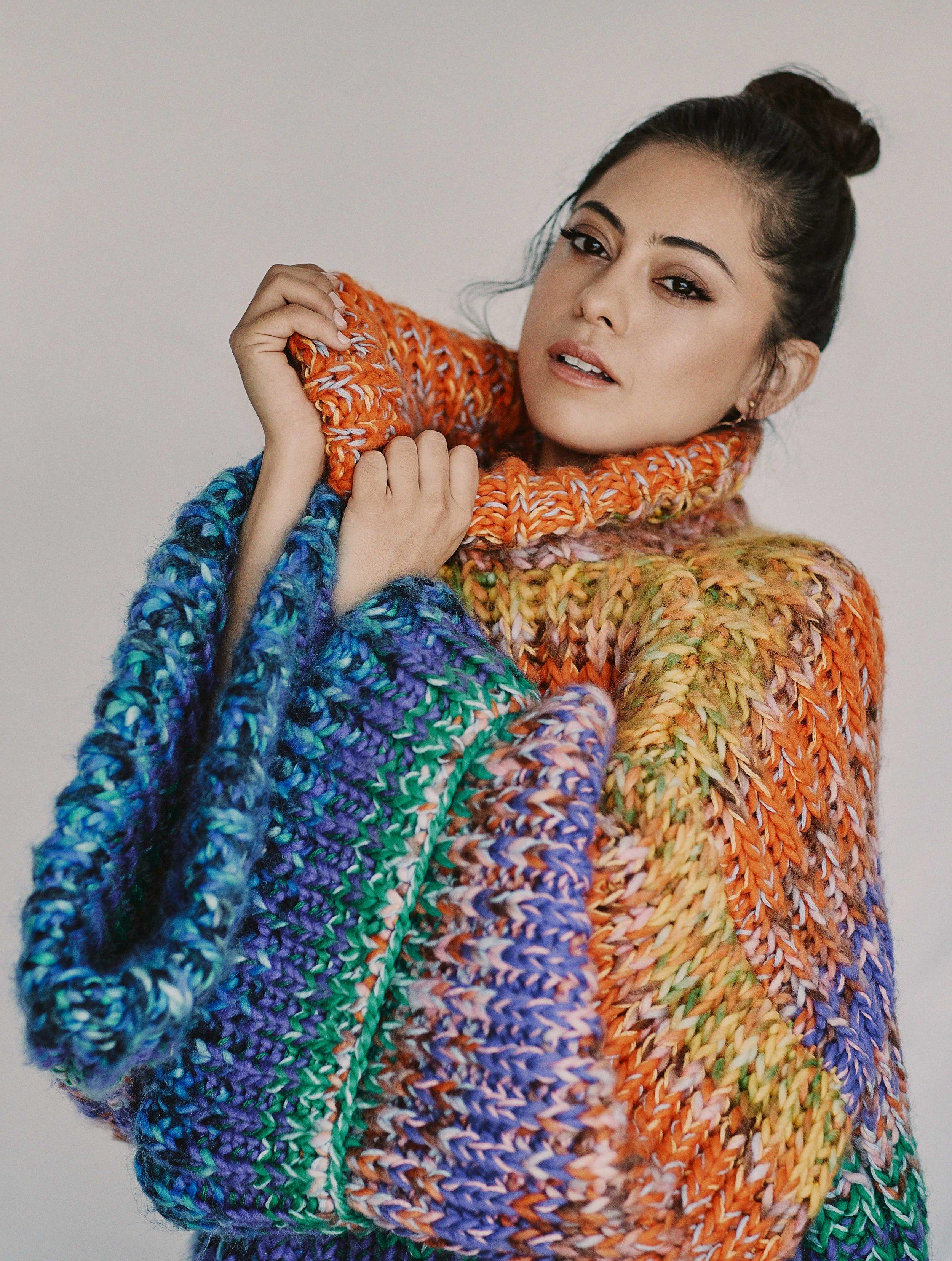 Rosa Salazar for Nexos Magazine Februrary/March 2019 Issue Styled by Natalie Hoselton