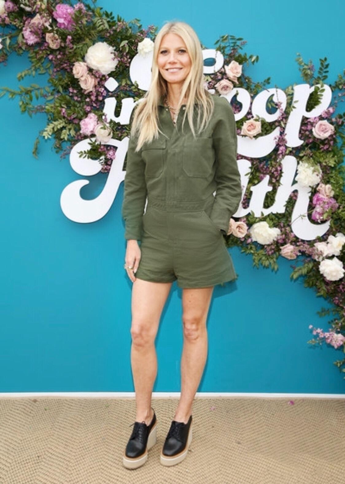 Gwyneth Paltrow for In Goop Health LA / Styled by Natalie Hoselton
