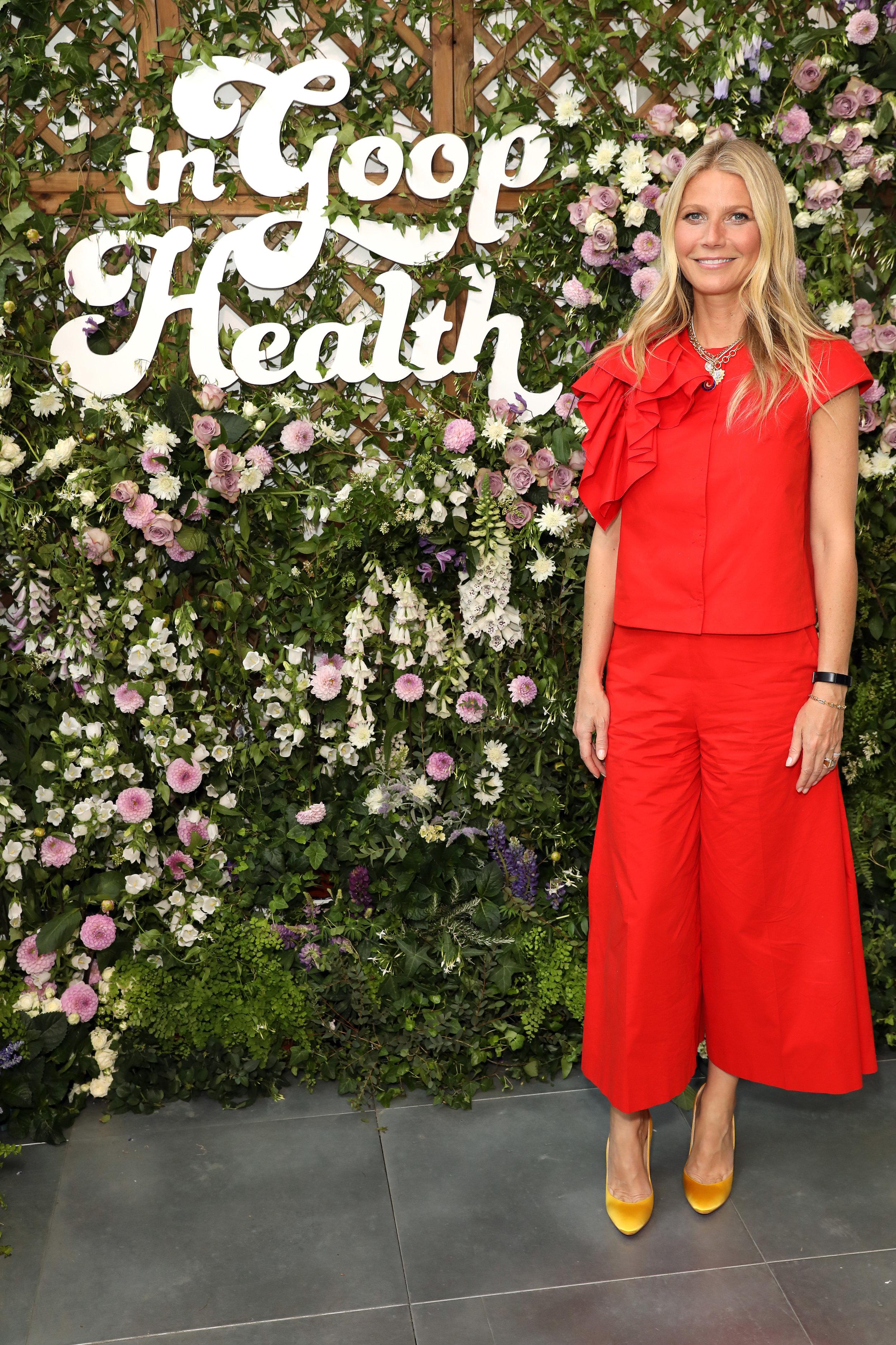 Gwyneth Paltrow attends In Goop Health London June 2019/ Styled by Natalie Hoselton