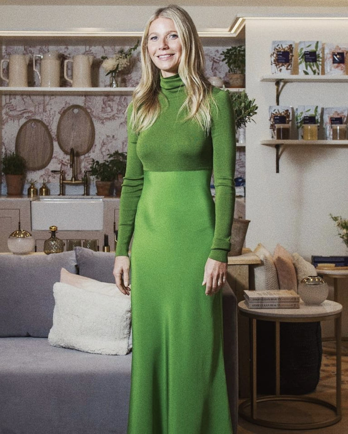 Gwyneth Paltrow attends Goop x Harvey Nichols Opening June 2019/ Styled by Natalie Hoselton