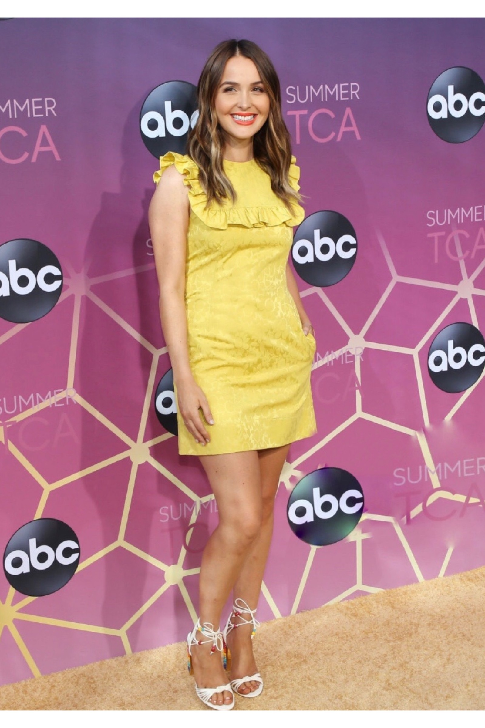 Camilla Luddington for ABC TCA party August 2019/ Styled by Natalie Hoselton