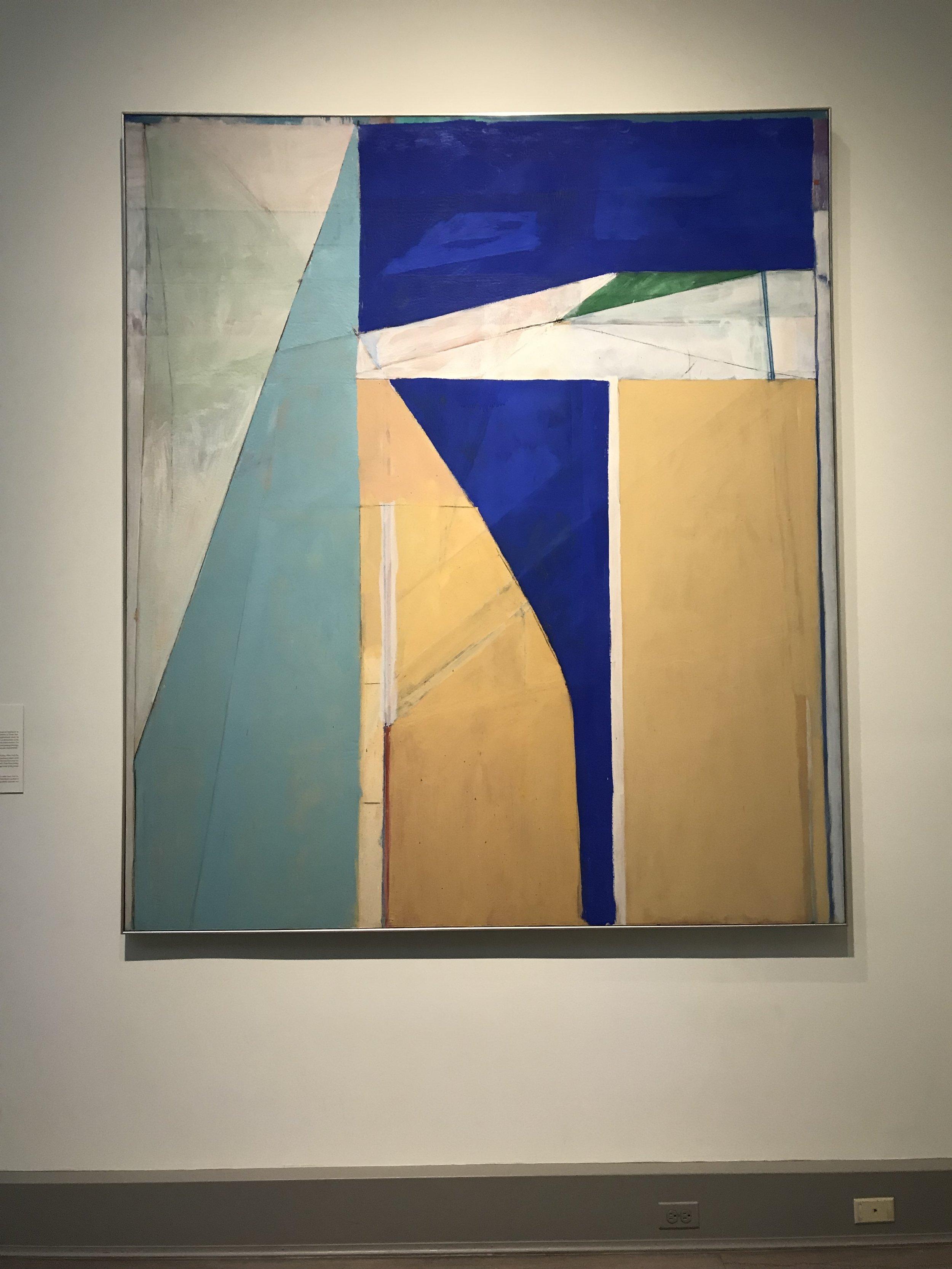"Richard Diebenkorn, ""Ocean Park No. 32"""