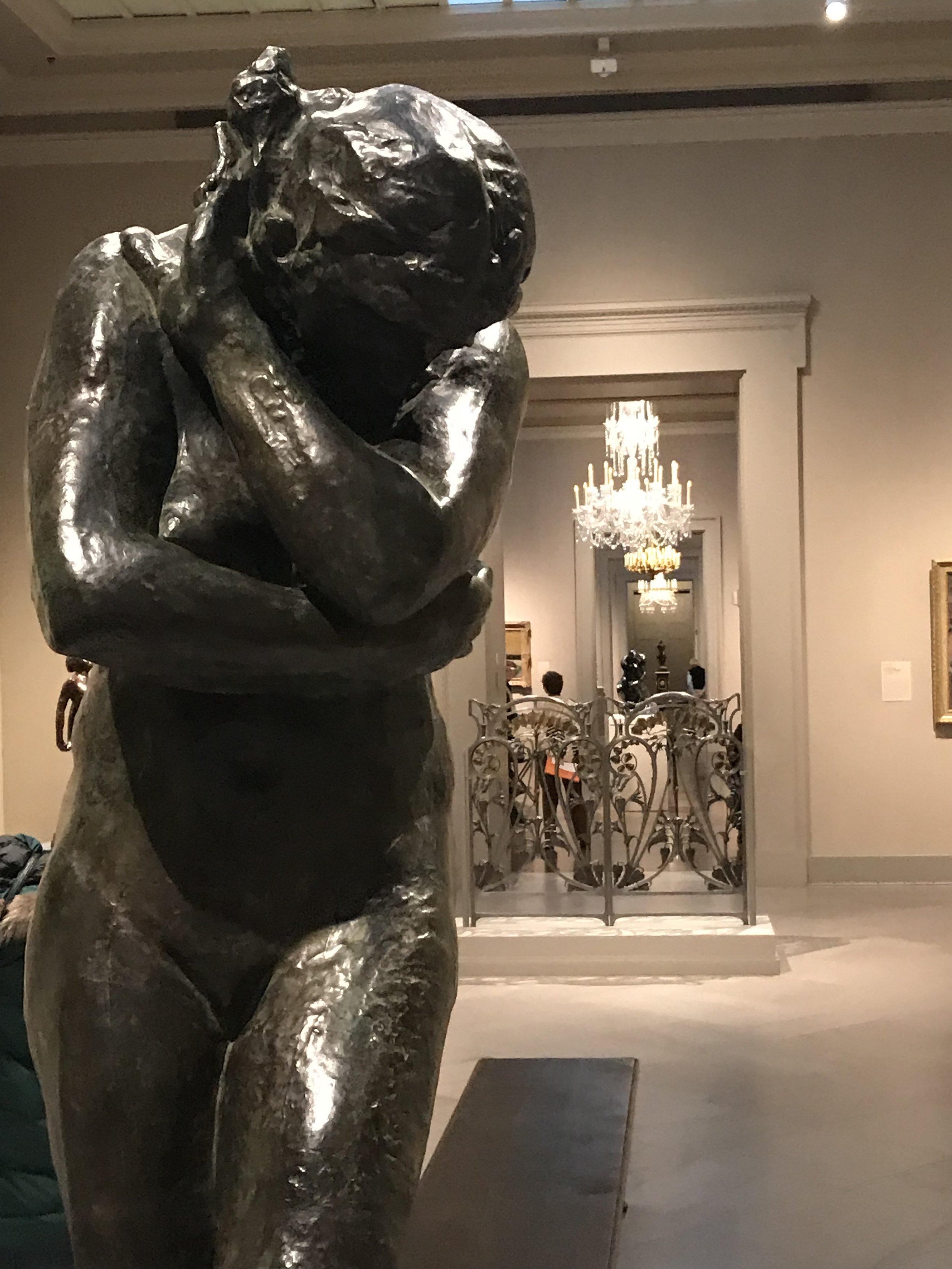 """Auguste Rodin, """"Eve."""""""