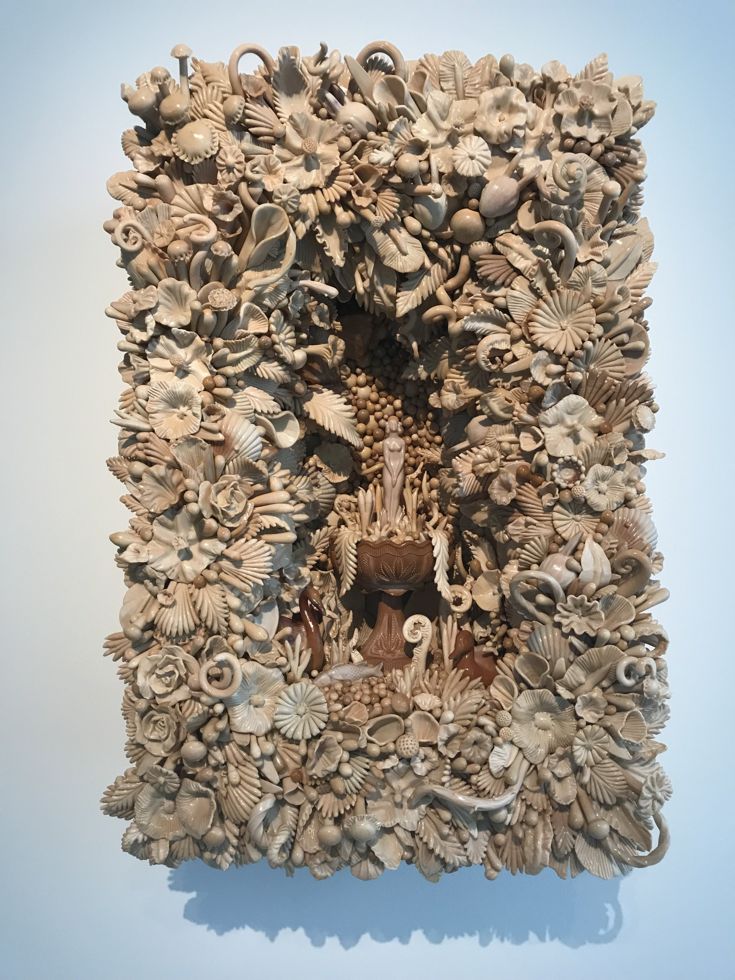 """Amber Cowan, """"Grotto of the Chocolate Nymph"""""""