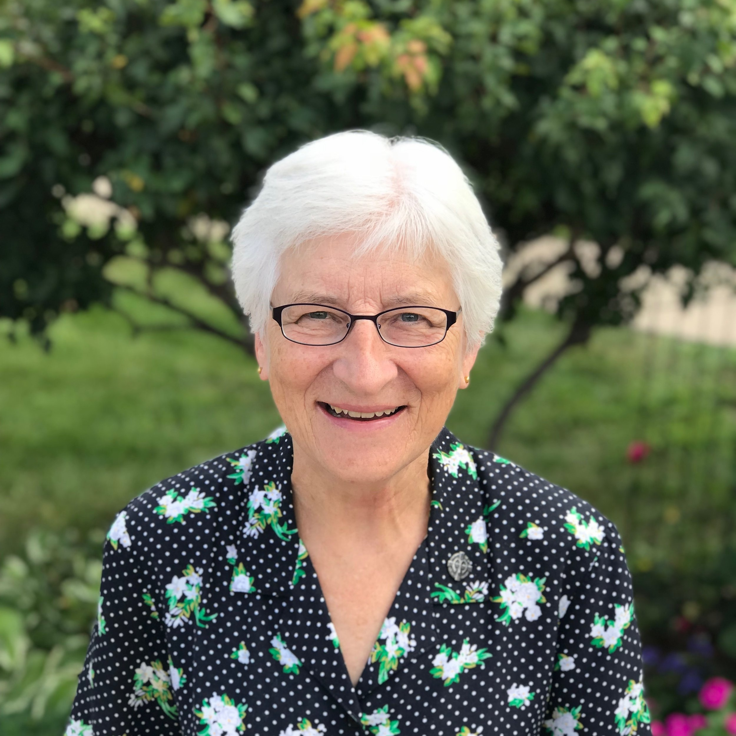 Sr. Audrey Lindenfelser, SSND  -ParaProfessional  alindenfelser@stjeromeschool.org  I am a School Sister of Notre Dame. My religious community has served in schools and various ministries on the East Side of St. Paul for over 130 years. I have over 40 years of experience in teaching and administration, with a degree in elementary education, a masters in nonpublic school administration from St. Thomas University and reading licensure from Hamline University. I'm grateful for the opportunity to use my skills and experience to support students at St. Jerome, helping them reach more of their potential as individuals created in God's image.