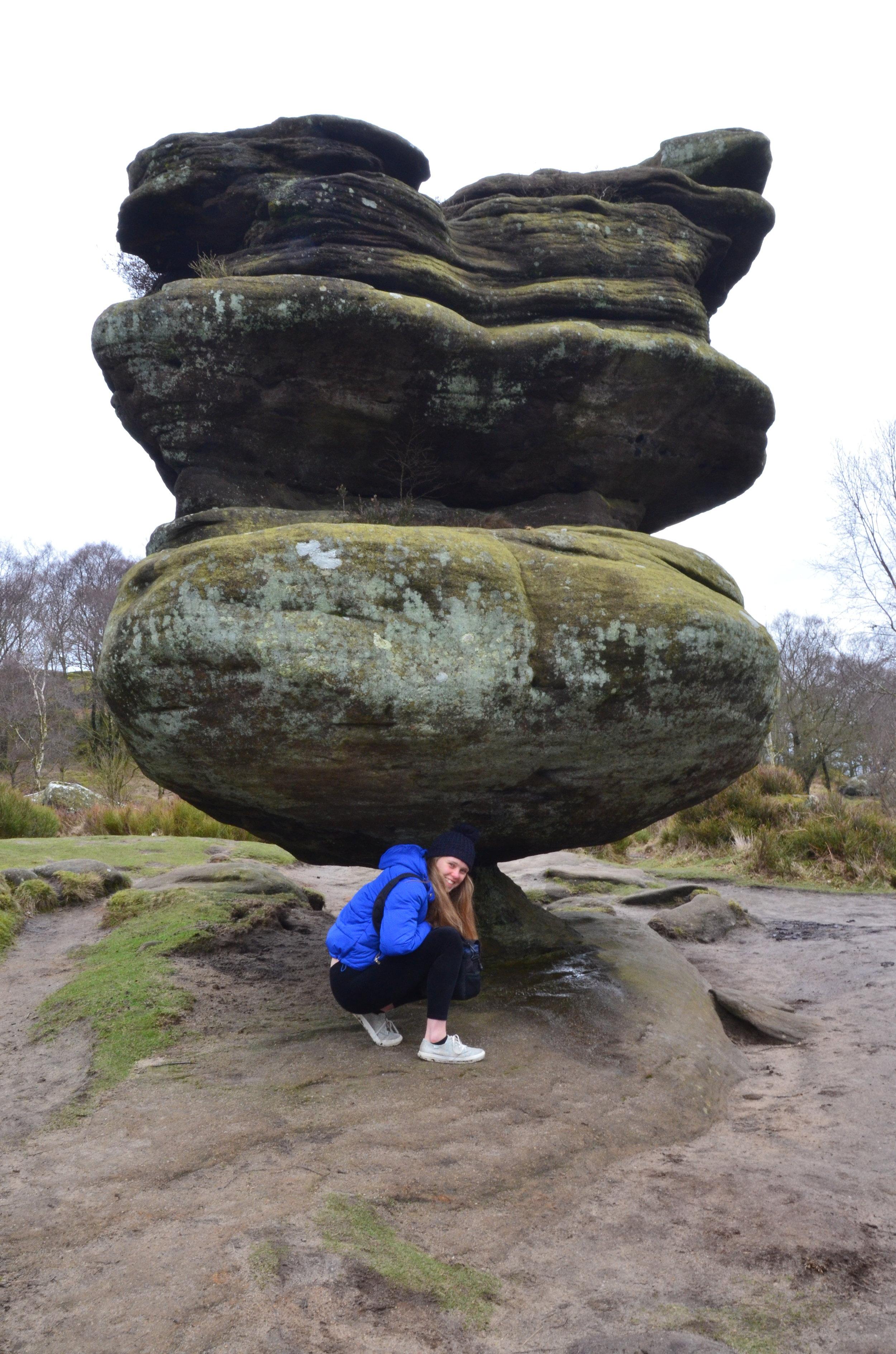 Exploring Yorkshire's Brimham Rocks