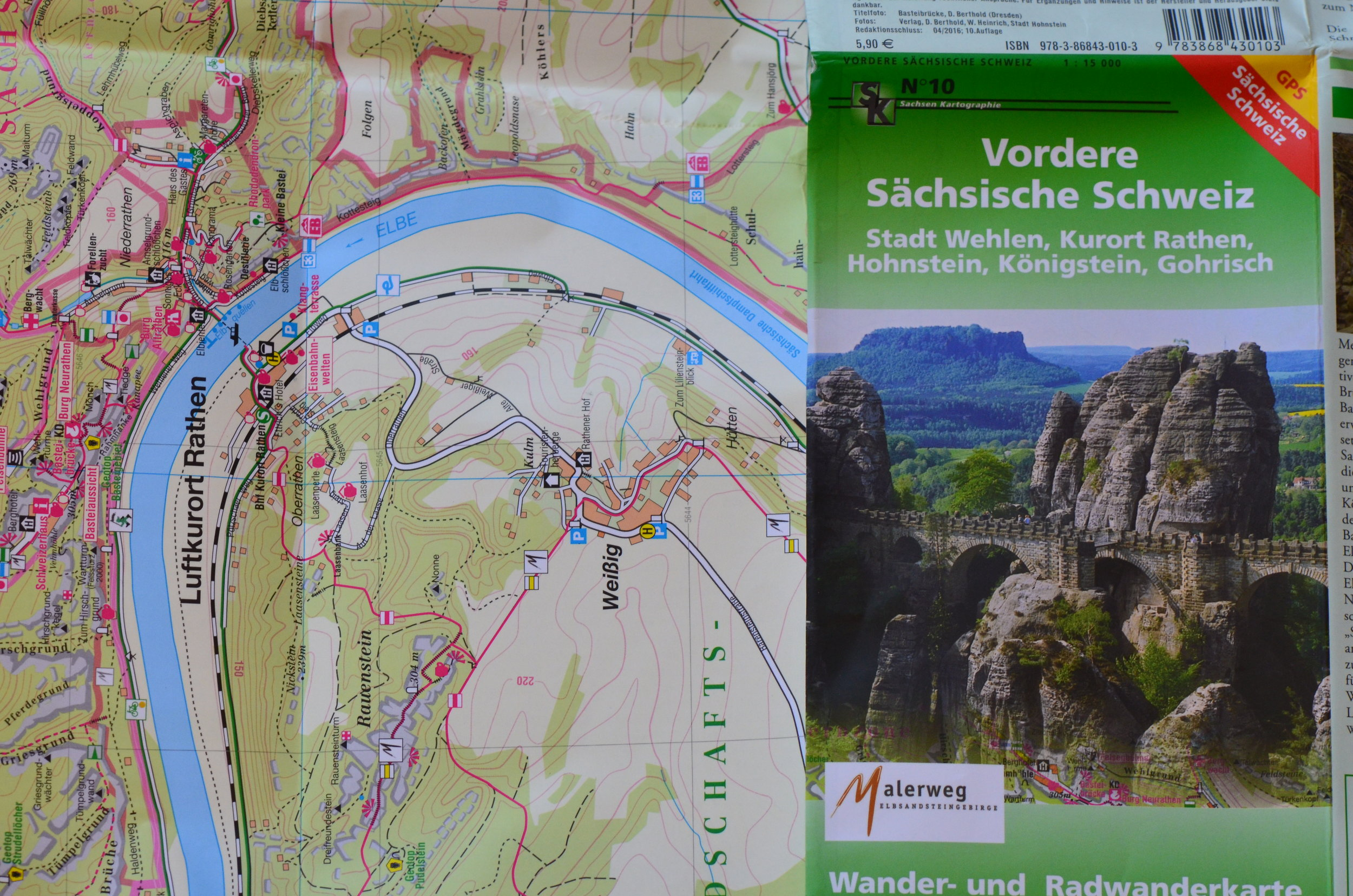The Saxony Switzerland National Park was established in 1990- its 93 squarekm offers a whole host of different hiking trails , and being only 40 minutes by train from the city of Dresden it offers an accessible taste of adventure without hours of travel. Win-win!