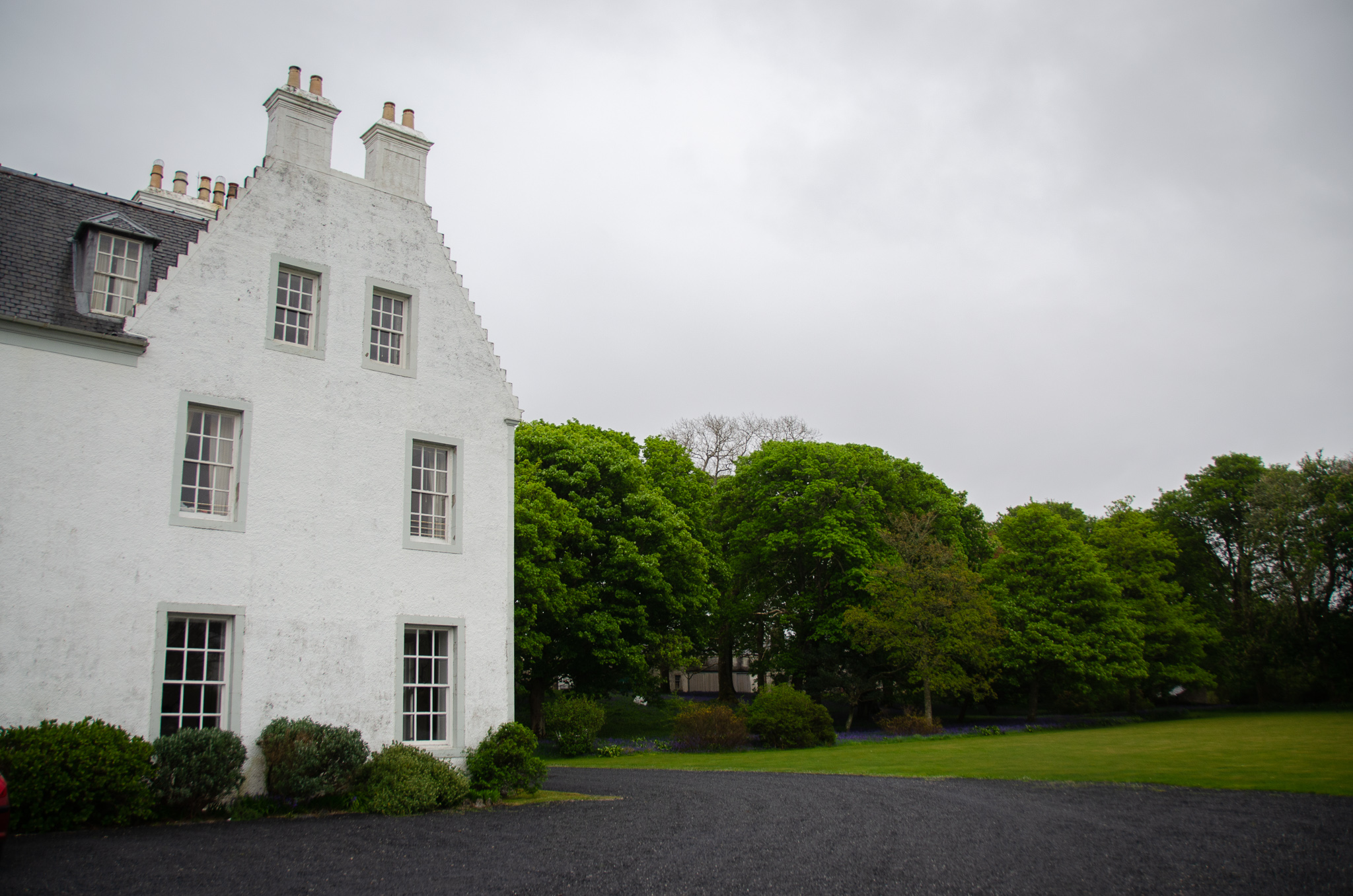 Islay House- once the historic home of the Campbells. .