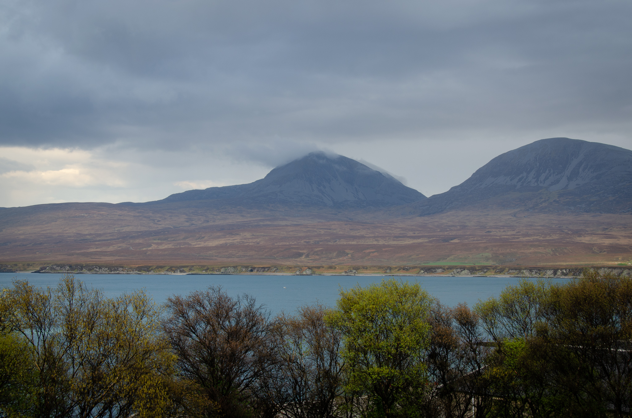 The view of the Paps from Islay