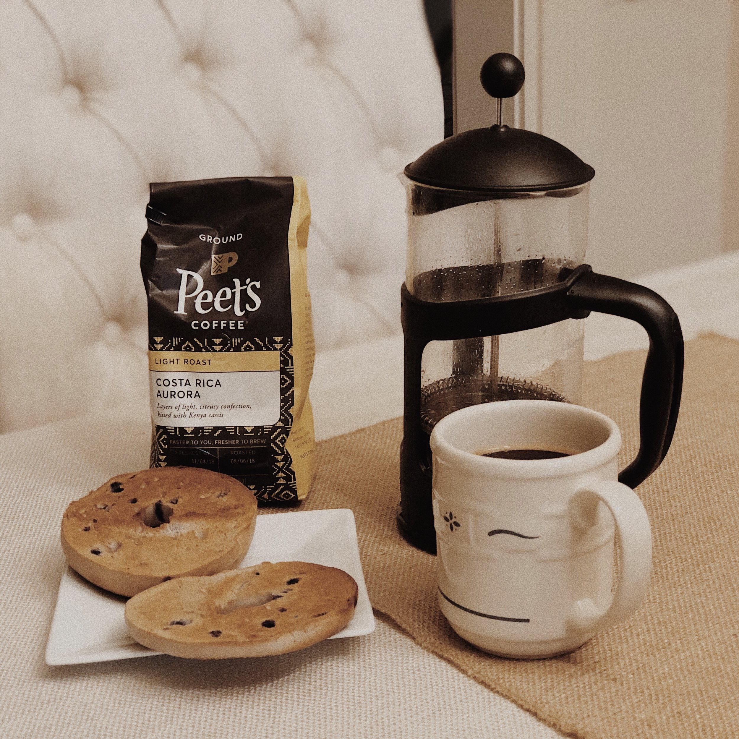 Peet's Light Roast Coffee -