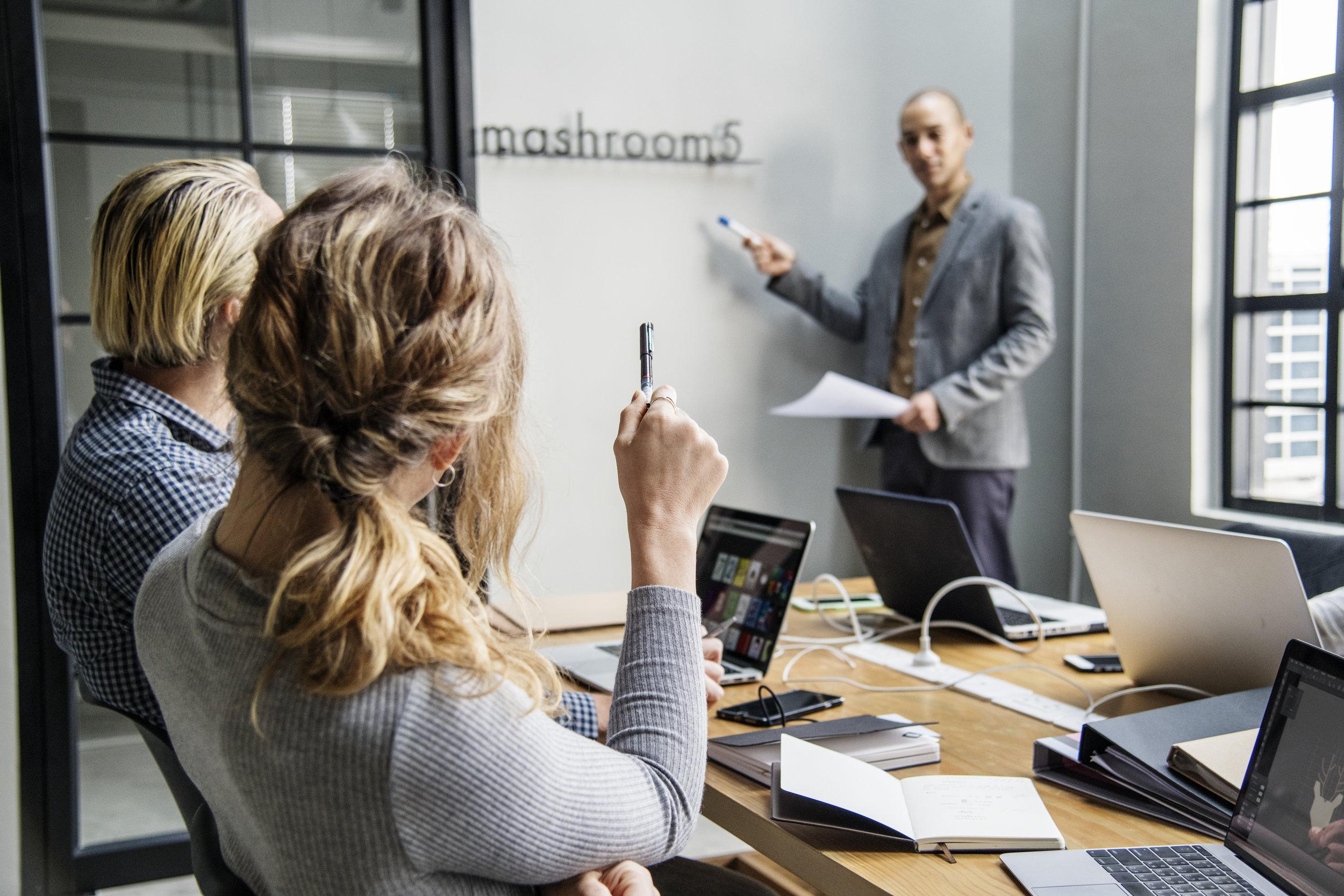 Copie de Group of diverse people having a business meeting
