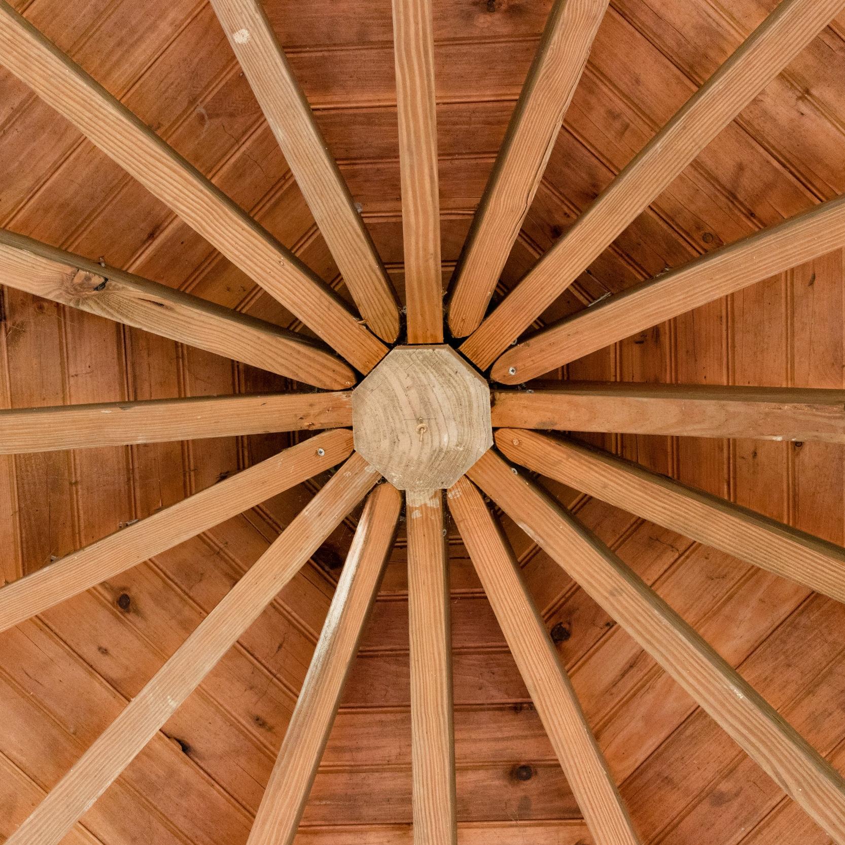 Gazebo roof