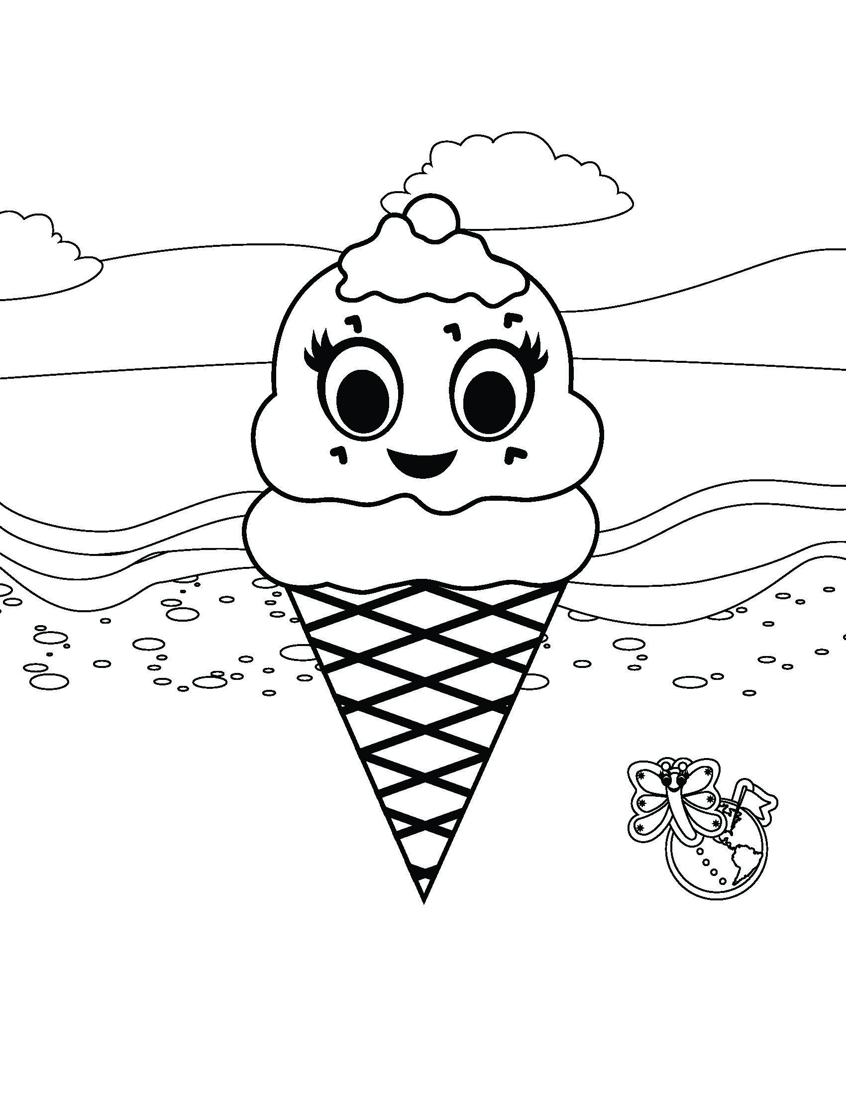 Edie the Ice Cream Cone