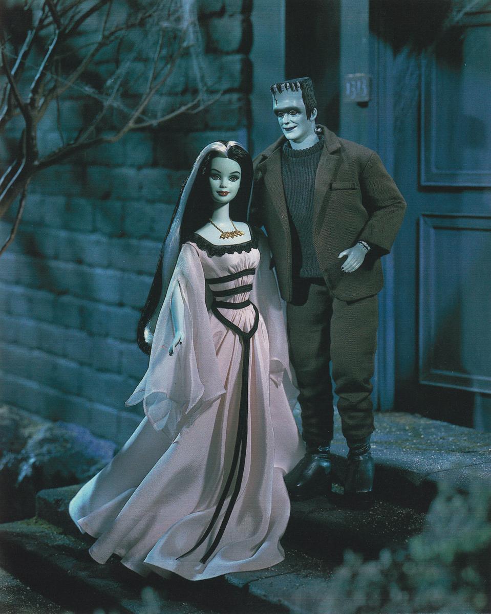The Munsters Barbie & Ken Giftset - Barbie Doll