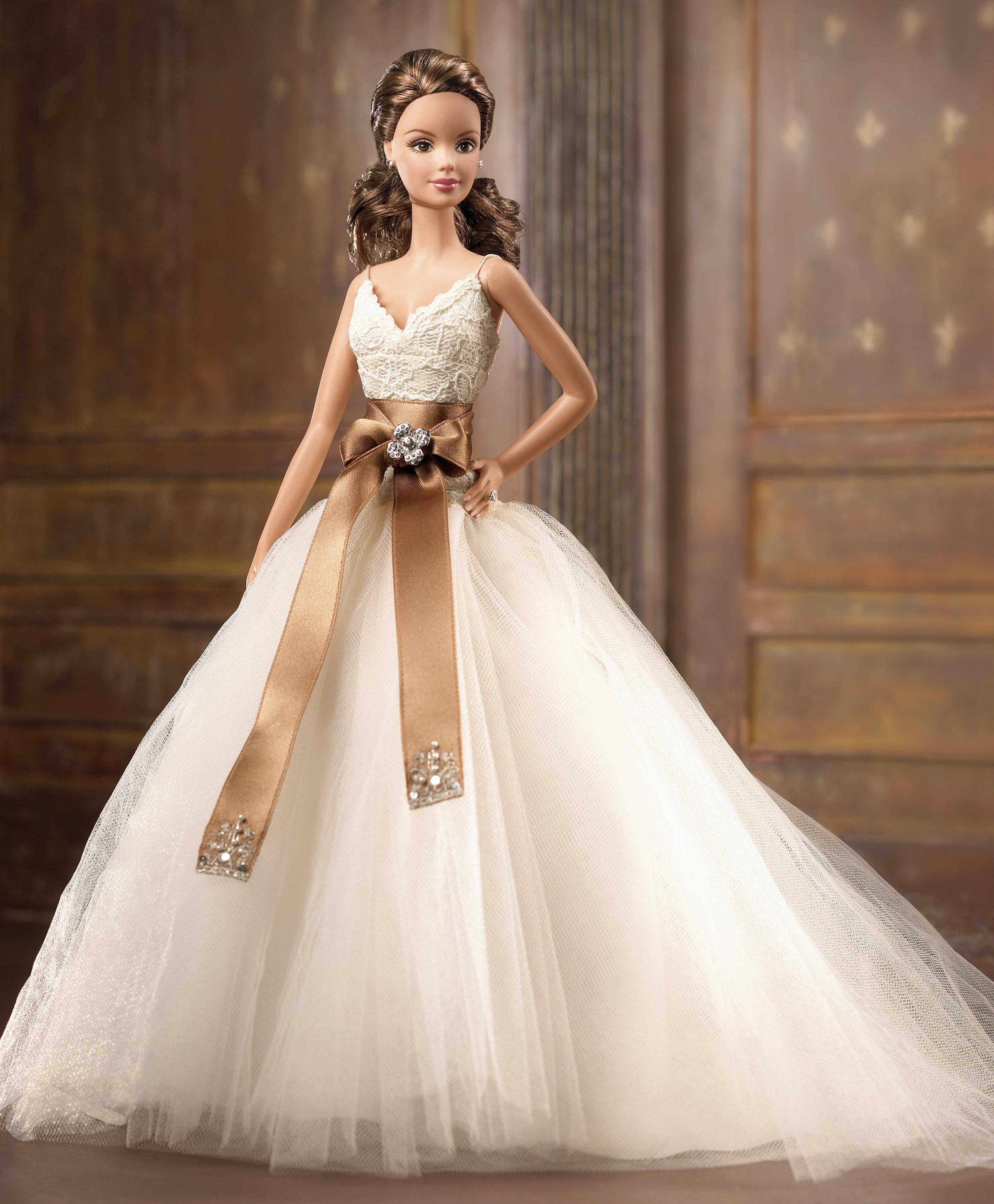 Monique Lhuillier Barbie Doll