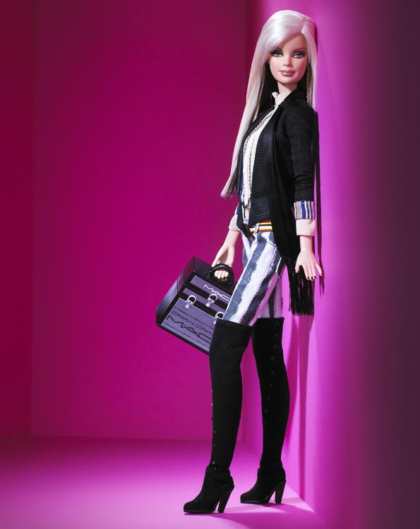 M.A.C. Barbie Doll