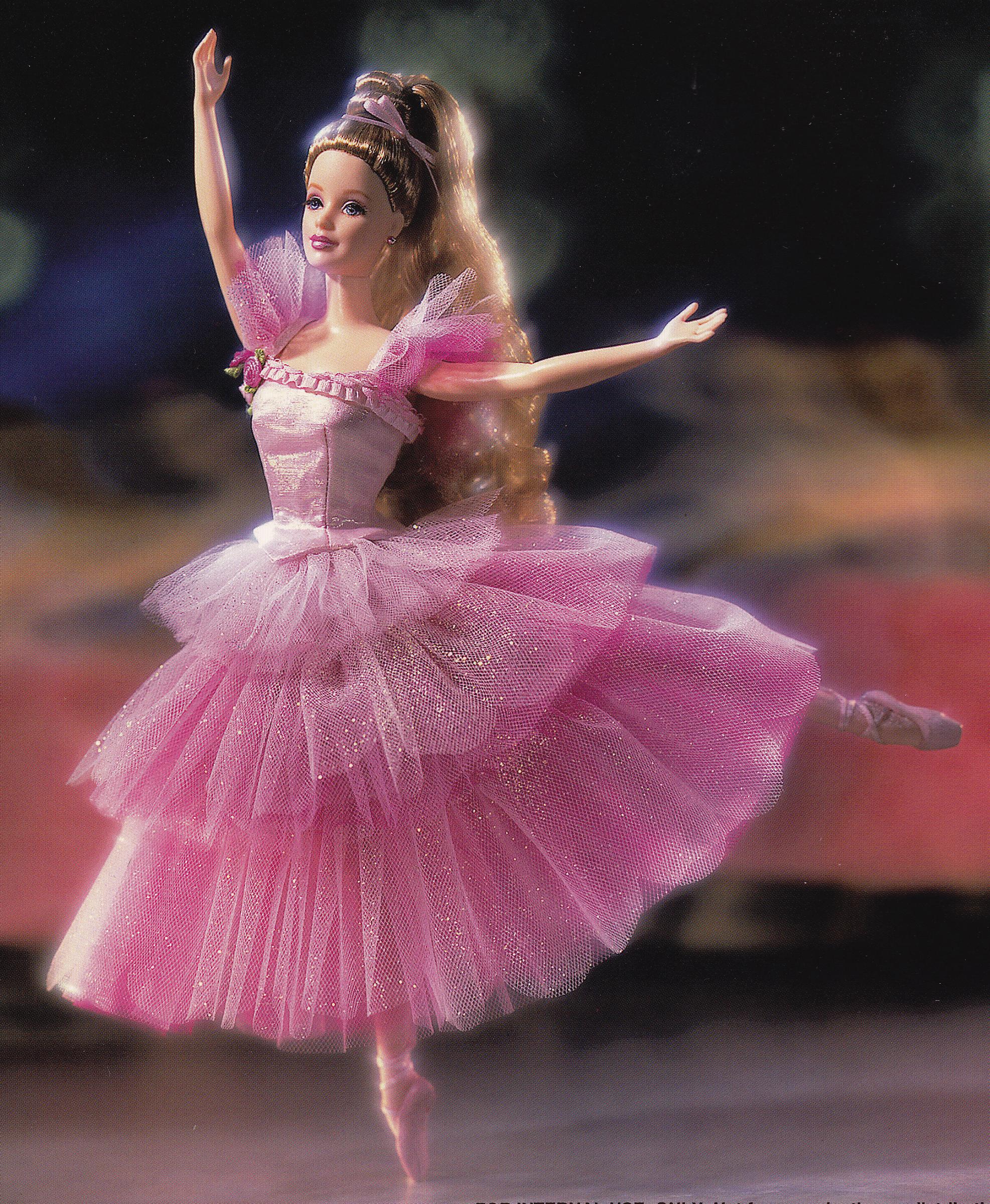 Barbie Doll as the Flower in the Nutcracker