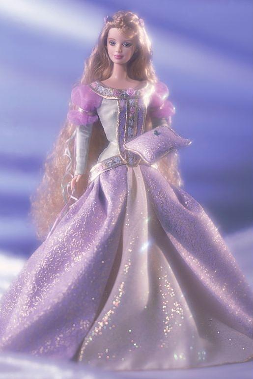 Princess and the Pea Barbie Doll