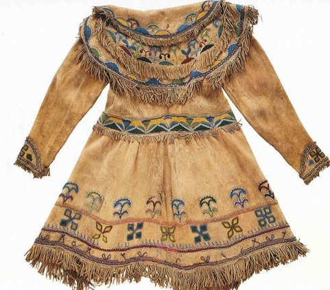 Clothing - We fabricated all sorts of clothing to accommodate every season. Animal furs and skins were naturally soft and comfortable materials for warm clothing.