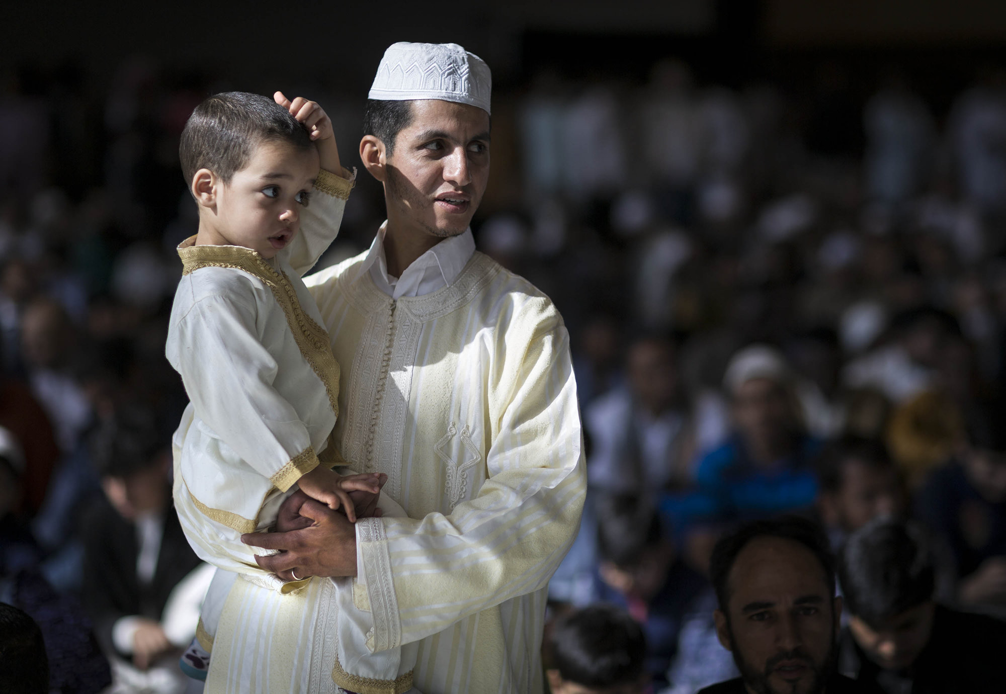 Father and Son, Eid al Fitr