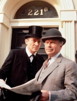 Jeremy Brett (1933-1995), which is the one I was thinking of when I wrote this story