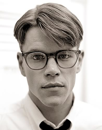 I spent a lot of time staring at this picture of Matt Damon, circa  The Talented Mr. Ripley