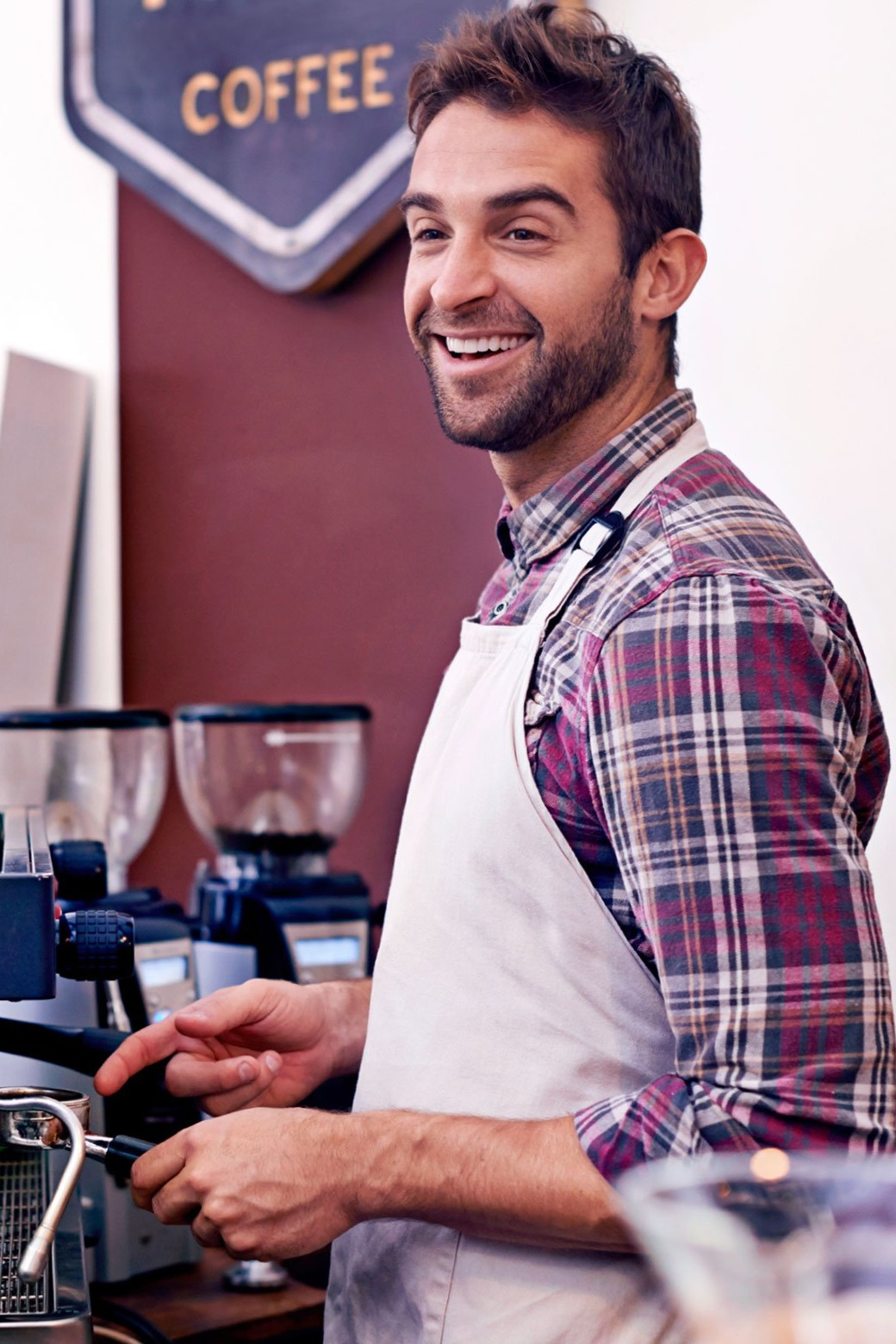 "If found this stock photo while researching ""Things Baristas Won't Tell You."" Click the photo to read the article on Reader's Digest. (We should all be nicer to baristas.)"