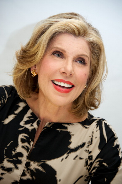 Christine Baranski inspired the rich Ms. Landry who brings Casey and Elliot together.