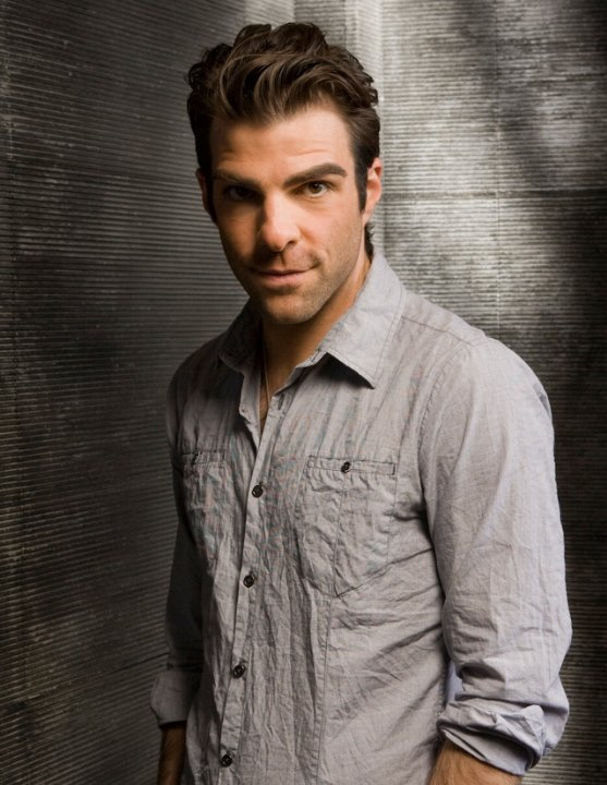 I based Ethan Penrose's good looks on actor Zachary Quinto
