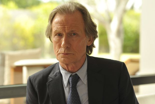 I love Bill Nighy. I used him for Jill's father.
